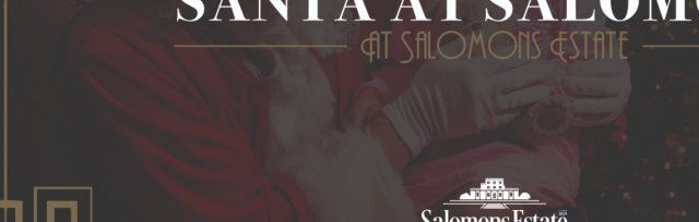 Santa at Salomons