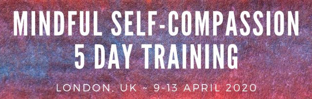 The Official Mindful Self-Compassion Programme - (MSCI 8.0) - 5 Day NON-Residential Training