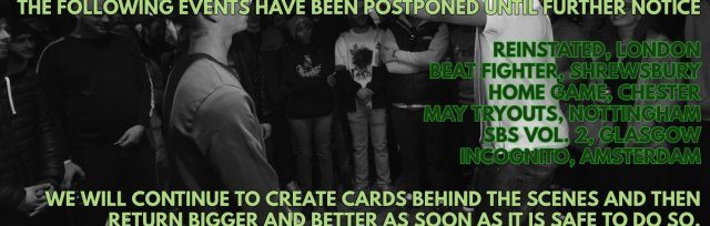All upcoming Don't Flop events have been postponed