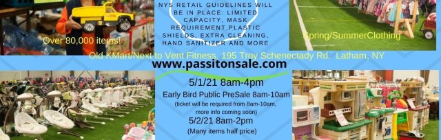 Pass It On Children's Consignment Spring/Summer Pop Up Retail Store