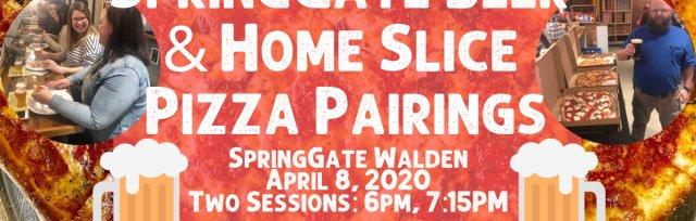 SpringGate Beer & Home Slice Pizza Pairings