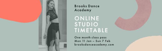 Brooks Dance Academy – 2021 Online Timetable