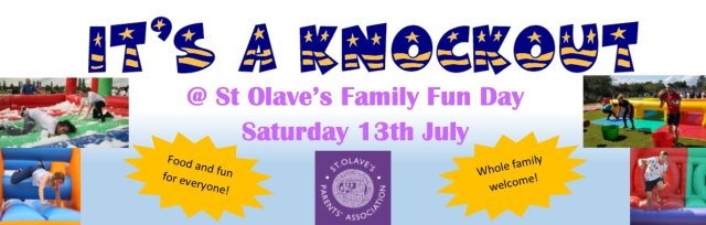 "St. Olave's ""It's a Knockout"" Family Fun Day"