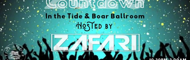 New Years Countdown 2020 with ZAFARI In The Tide and Boar Ballroom