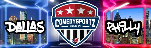 05.23.20 8:30PM Virtual DFW vs Philadelphia ComedySportz Match