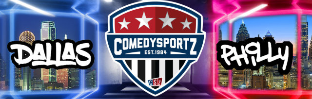 05.23.20 6:30PM Virtual DFW vs Philadelphia ComedySportz Match