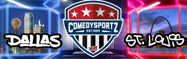 05.22.20 8:00PM Virtual DFW vs St. Louis ComedySportz Match