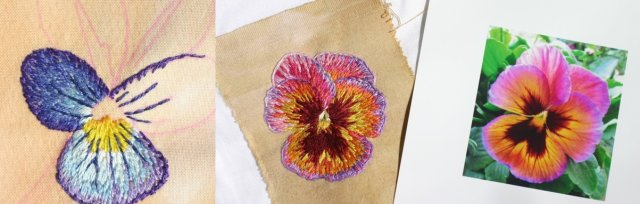 Embroidery Thread Painting with Jemima Lumley - £68