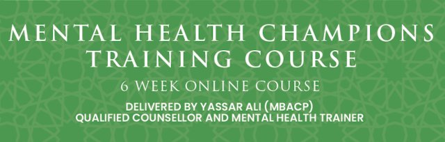 Mental Health Champions Training Course