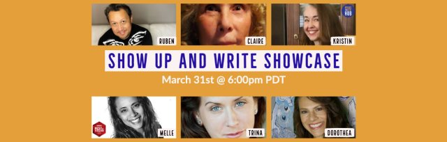 Show Up and Write Showcase