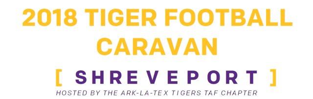 2018 Shreveport Tiger Football Caravan