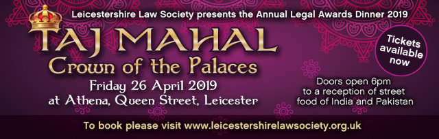 Leicestershire Law Society Annual Legal Awards Dinner 2019