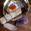Sage, Crystals & Herbs - Metaphysical and Healing Usages (by ANDREA THE HERBALIST) image