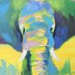 Paint & sip! Pop Art Elelphant at 3pm $29 image