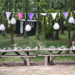 Woodland Supper Club at The Green Escape Glampsite image