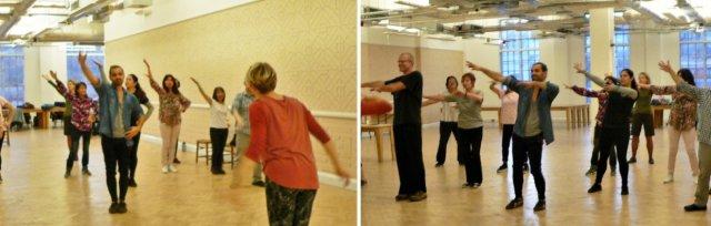 Community Showcase Performance of Mid-Autumn Dance