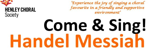 Come & Sing! Handel Messiah