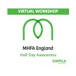 Mental Health Awareness Training - Virtual 4 Hour Training image