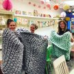 Knit a GIANT throw! image