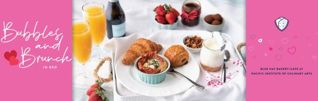 Valentine's Bubbles & Brunch in Bed - Kit for Two $69 or $89