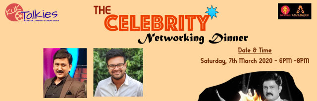 The Celebrity Networking Dinner with Ramesh Aravind and Akash Srivatsa