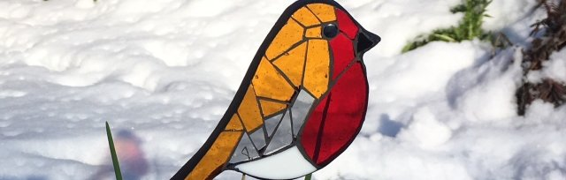 Mosaic Robin with Yvette Green - £74