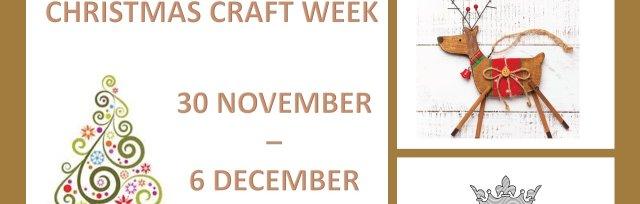 Christmas Craft Week 2020