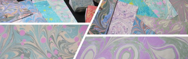Marvelous Marbling with Mary Day - £74