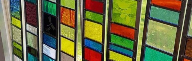 Stained Glass Garden Ladders with Caroline Lambert - £74