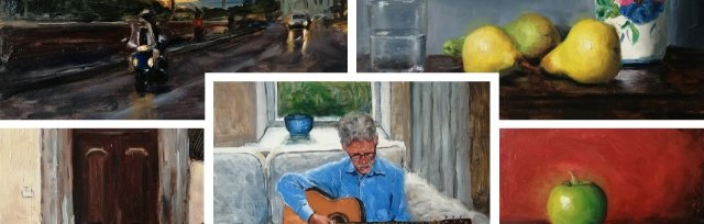 Oil Painting for Beginners with Warren Sealey - £74