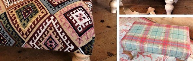Footstools - An Introduction to Upholstery with Sew Vintage - £149
