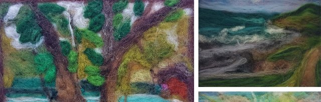 Needlefelt Landscapes with Yvonne Wood - £40