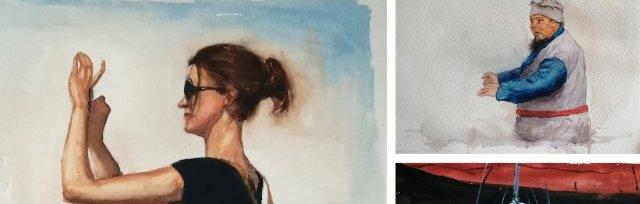 Watercolours with Warren Sealey - £60