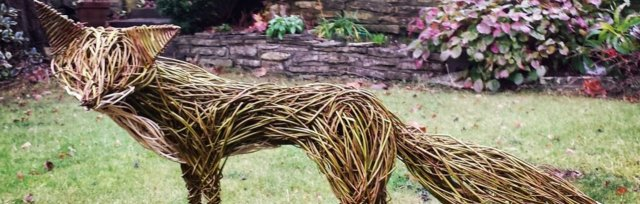 Willow Weave a Fox with Sarah Jayne Edwards - £74