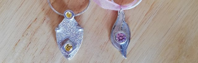 Setting Gems in Silver Clay with Wizz Stearne - £74