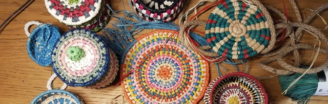 Morocco Inspired Coiled Raffia Weaving with Sarah Jayne Edwards - £74