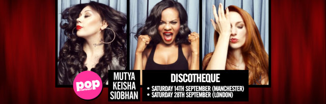 MKS + Sugababes Discotheque at Night People in Manchester (Saturday 14th September 2019)