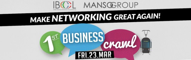 (NEW DATE!! )Kirchberg BusinessCrawl: 4 stops food and drink included