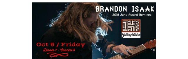 Brandon Isaak Dinner Concert