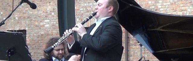Macdara Ó Seireadáin (clarinet) and Gintaras Januševičius (piano)