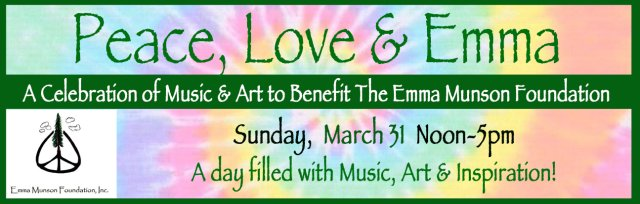 Peace, Love & Emma - A Celebration of Music and Art