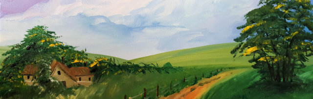 "Let's Paint ""A Walk in the Countryside"""