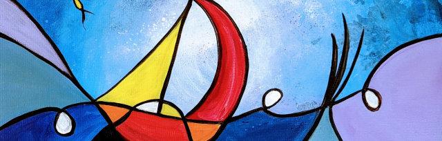 """Let's Paint """"Sailing like Miró"""" - Online"""