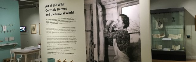Gertrude Hermes Self-Led Exhibition Visits and Curator's Tour
