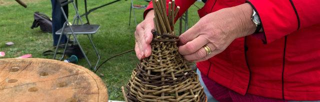 Willow Cone Planters @ Sussex Prairie Gardens