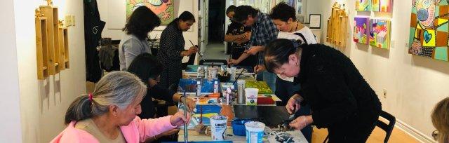 Saturday Arts Class - Watercolour with Jacintha Krish - Adults 18 yrs+ - May 16 to Jun 6