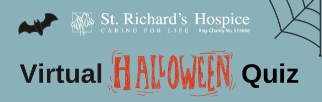 St Richard's Hospice Virtual Halloween Quiz