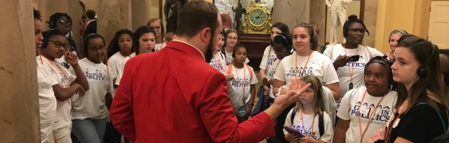 Camp Congress for Girls DC 2022 ft a Day on Capitol Hill