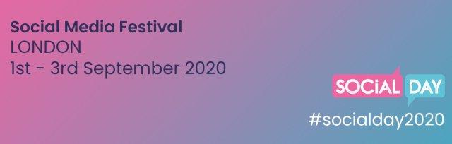 SocialDay 2020 Social Media Marketing Event Festival London