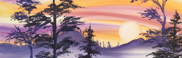 """Let's Paint """"Sleepy Forest"""" - online"""